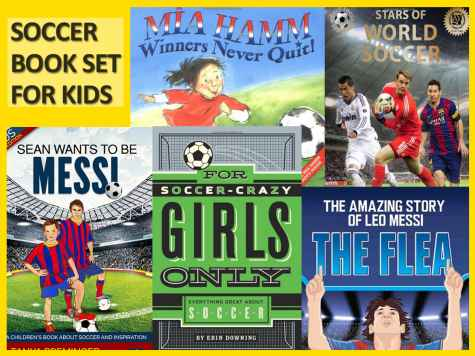 Wanna Win 5 kids soccer books? - Tanya Preminger
