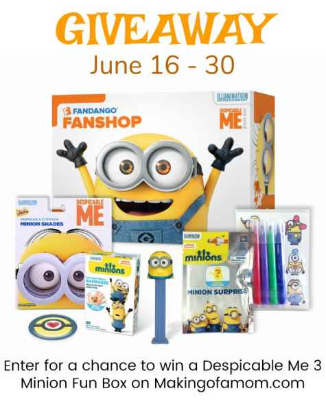 Despicable Me 3 Fun Box US 6/30 - Making of A Mom