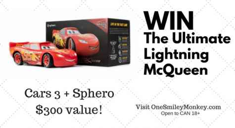 CARS 3 Remote Control Car Giveaway - One Smiley Monkey