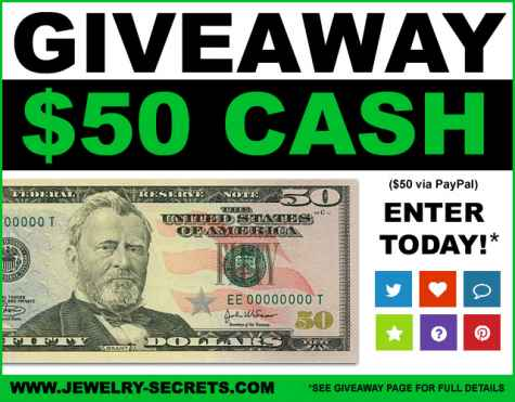 Win $50 PayPal Cash - Jewelry Secrets
