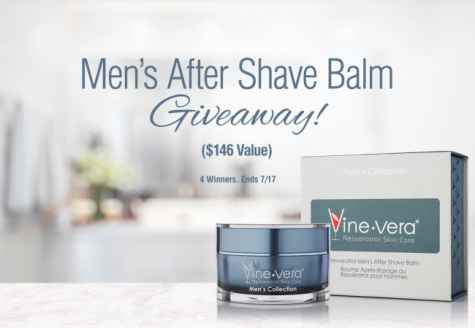 Men's Aftershave Balm Giveaway - Vine Vera